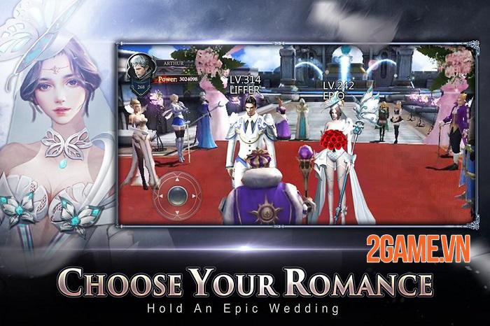 Rage of Gods - Game nhập vai cho phép nhân vật kết hợp biến hình với các vị thần 4