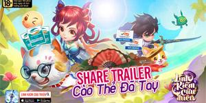 Game Linh Kiếm Cửu Thiên tung trailer khoe tính năng đặc sắc
