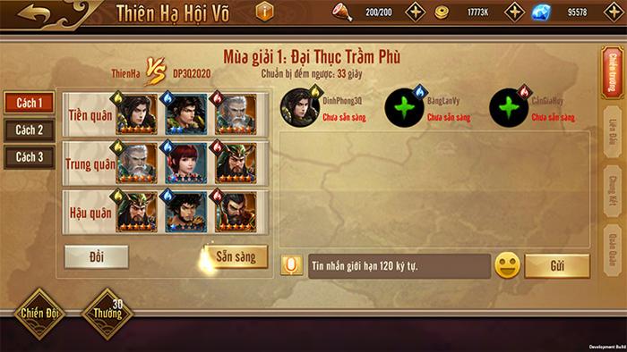 Đỉnh Phong Tam Quốc trình làng giải đấu Thiên Hạ Hội Võ quy mô liên server 2