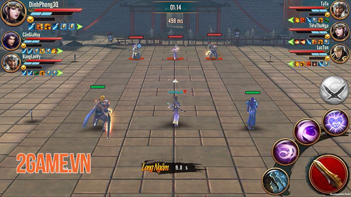Đỉnh Phong Tam Quốc trình làng giải đấu Thiên Hạ Hội Võ quy mô liên server 4