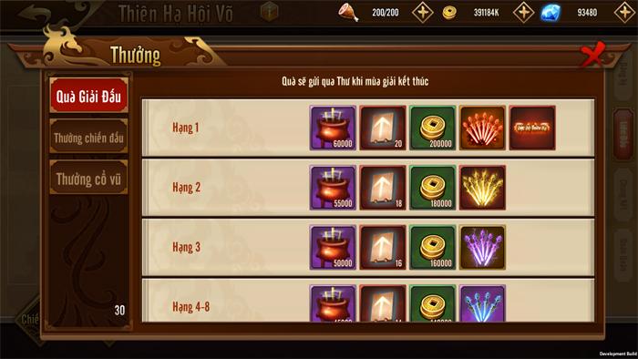 Đỉnh Phong Tam Quốc trình làng giải đấu Thiên Hạ Hội Võ quy mô liên server 6