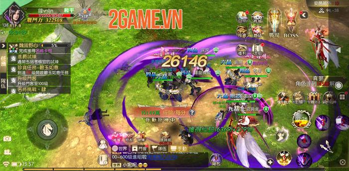 Kiếm Đế 3D Mobile - Game tự xưng Tuyệt thế Kiếm hiệp về Việt Nam 4