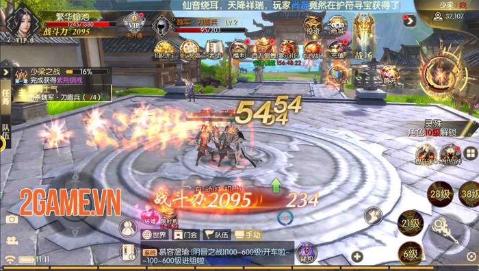 Kiếm Đế 3D Mobile - Game tự xưng Tuyệt thế Kiếm hiệp về Việt Nam 5
