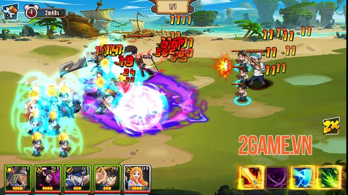 Nhẫn Giả Haki Mobile chính là tâm huyết của những người làm game Việt yêu thích Manga 2