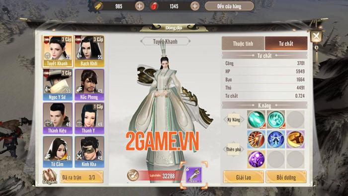 Cơ chế chiến đấu mới lạ của Tần Mỹ Nhân Gamota khiến game thủ đau đầu nghiên cứu 1