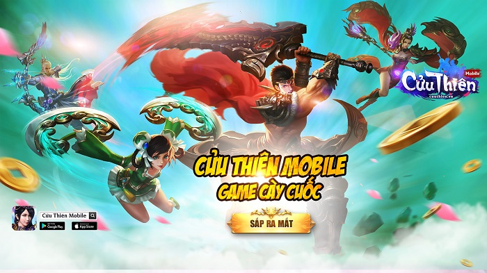 CMN Online tiếp tục nhá hàng dự án game mới Cửu Thiên Mobile 0