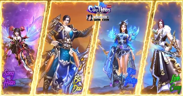 CMN Online tiếp tục nhá hàng dự án game mới Cửu Thiên Mobile 2