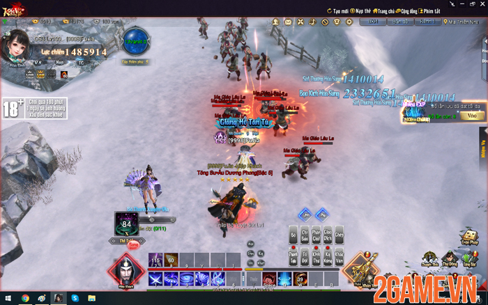 Tặng 777 giftcode game Kiếm Vũ Giang Hồ 3D VNG 2game-kiem-vu-giang-ho-3d-danh-quai-5