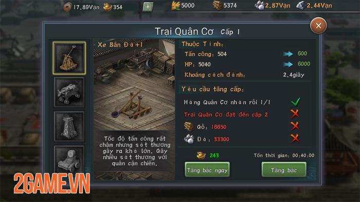 Tân Tam Quốc Chí Mobile cho tất cả người chơi trong cùng server tham chiến tại một Map lớn 3