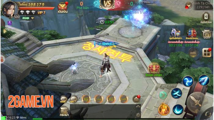 Giang Hồ Chi Mộng - Tuyệt Thế Võ Lâm là game nhập vai mobile có nhiều hoạt động liên server nhất! 5
