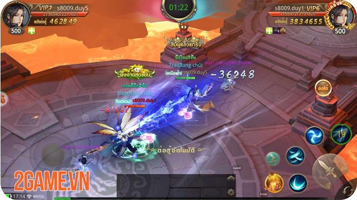 Giang Hồ Chi Mộng - Tuyệt Thế Võ Lâm là game nhập vai mobile có nhiều hoạt động liên server nhất! 2