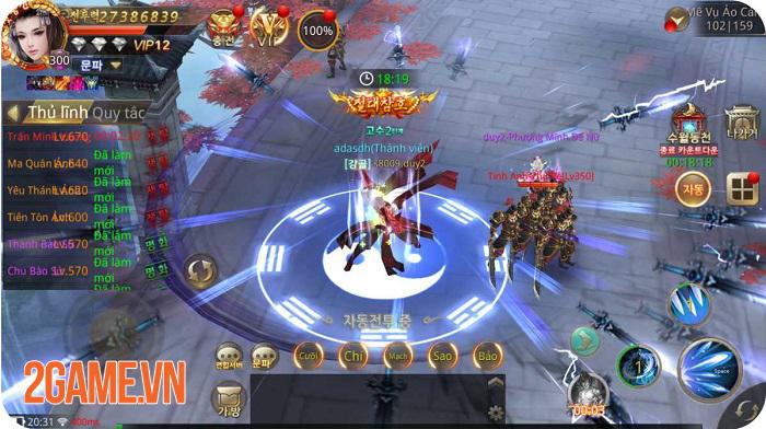 Tuyệt Thế Võ Lâm là game nhập vai mobile có nhiều hoạt động liên server nhất! 4