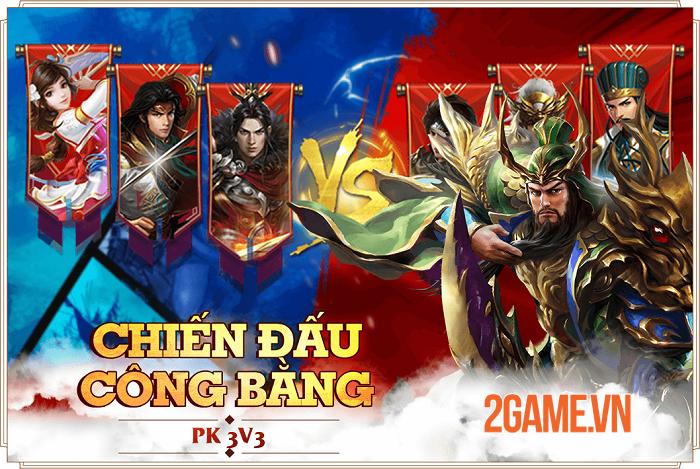 Siêu phẩm game hành động Đỉnh Phong Tam Quốc tung Big Update Thiên Hạ Hội Võ 2