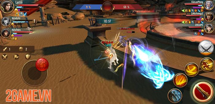 Thi đấu công bằng - Một khái niệm mới trong game Đỉnh Phong Tam Quốc 2