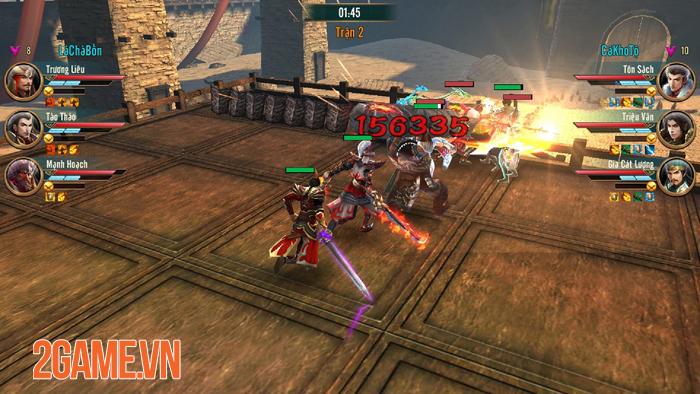 Thi đấu công bằng - Một khái niệm mới trong game Đỉnh Phong Tam Quốc 1
