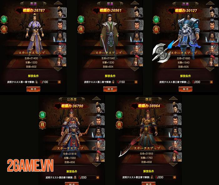 GTV nhá hàng dự án game mới Tam Quốc Truyền Kỳ H5 5