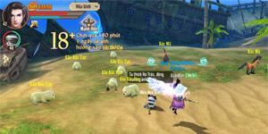 Tân Thiên Long Mobile có lẽ là tựa MMORPG sở hữu tính năng Trân thú độc nhất vô nhị