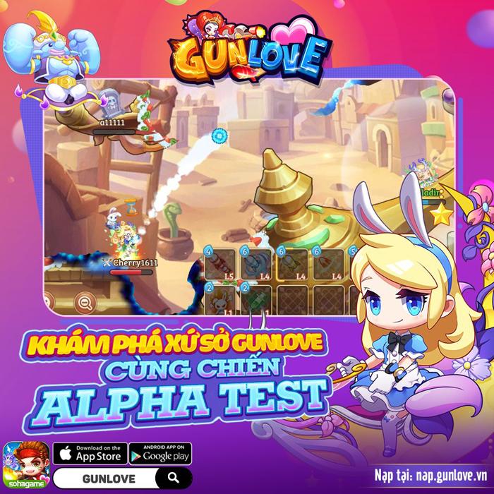 Tặng 888 giftcode game Gun Love 3D Mobile 3