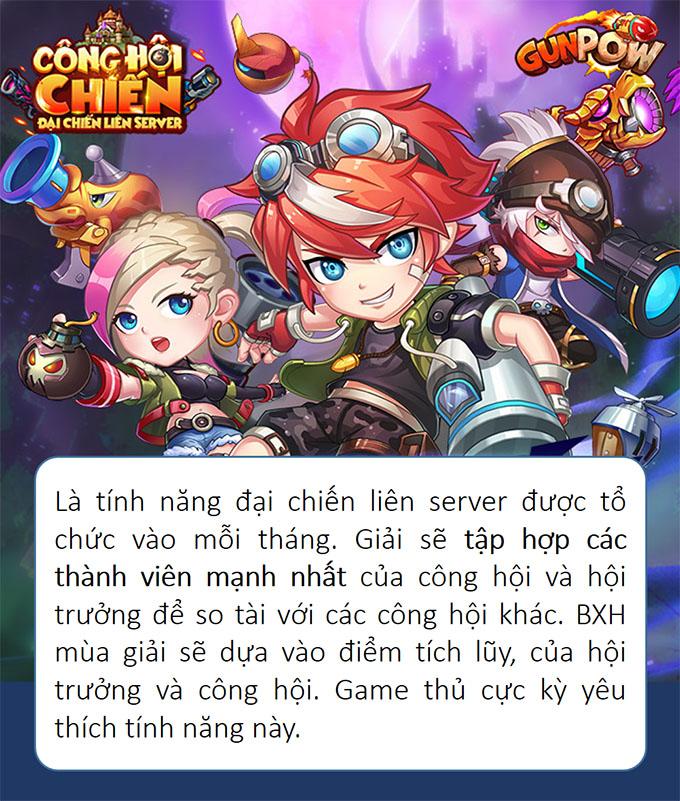 """Những hoạt động """"hút khách"""" nhất của GunPow sau 3 năm phát hành ở Việt Nam 5"""