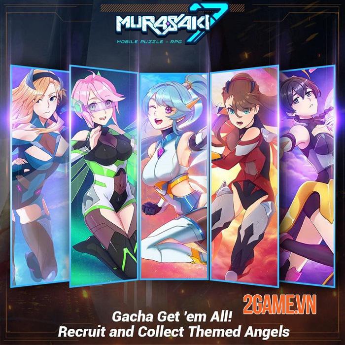Murasaki 7 - Game puzzle RPG có cốt truyện anime độc đáo với 200 cấp độ 0