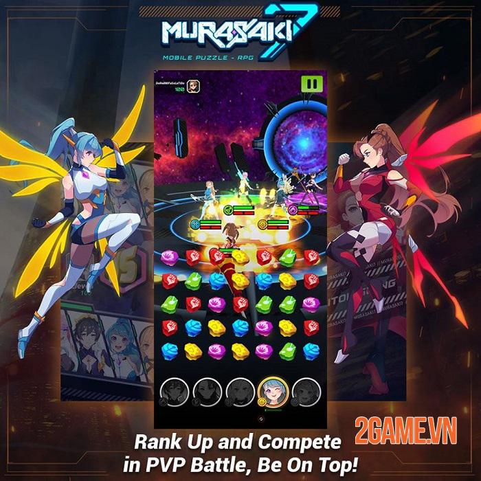 Murasaki 7 - Game puzzle RPG có cốt truyện anime độc đáo với 200 cấp độ 2
