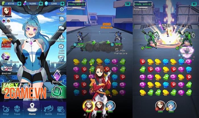 Murasaki 7 - Game puzzle RPG có cốt truyện anime độc đáo với 200 cấp độ 4