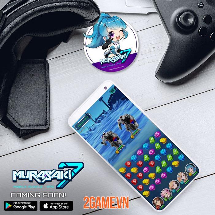 Murasaki 7 - Game puzzle RPG có cốt truyện anime độc đáo với 200 cấp độ 3