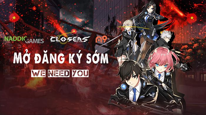 Game PC hành động Closers Online công bố lộ trình ra mắt tại Việt Nam 1