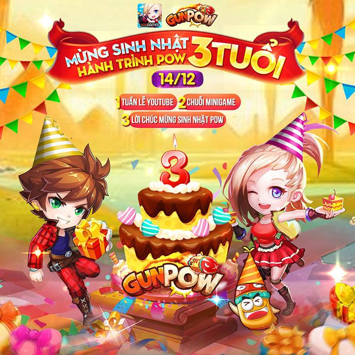 Game tọa độ GunPow VNG ra mắt sự kiện hot nhất tháng 12 4