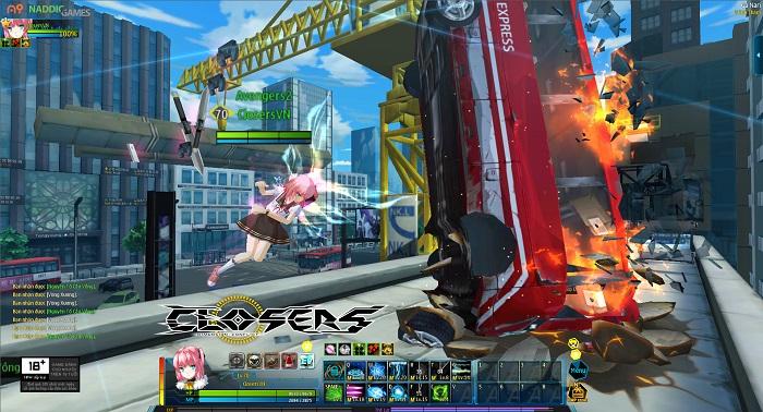 Game nhập vai hành động Closers Online đã được Việt hóa chỉn chu 2
