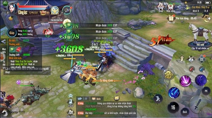Thái Cực 3D Mobile tự tin trở thành tựa game kiếm hiệp quốc dân hấp dẫn nhất 1