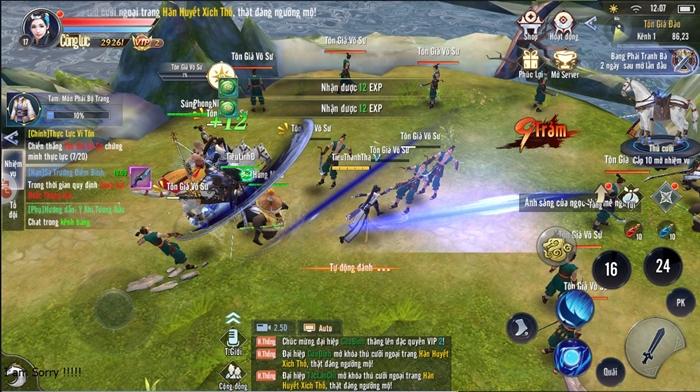 Thái Cực 3D Mobile tự tin trở thành tựa game kiếm hiệp quốc dân hấp dẫn nhất 3