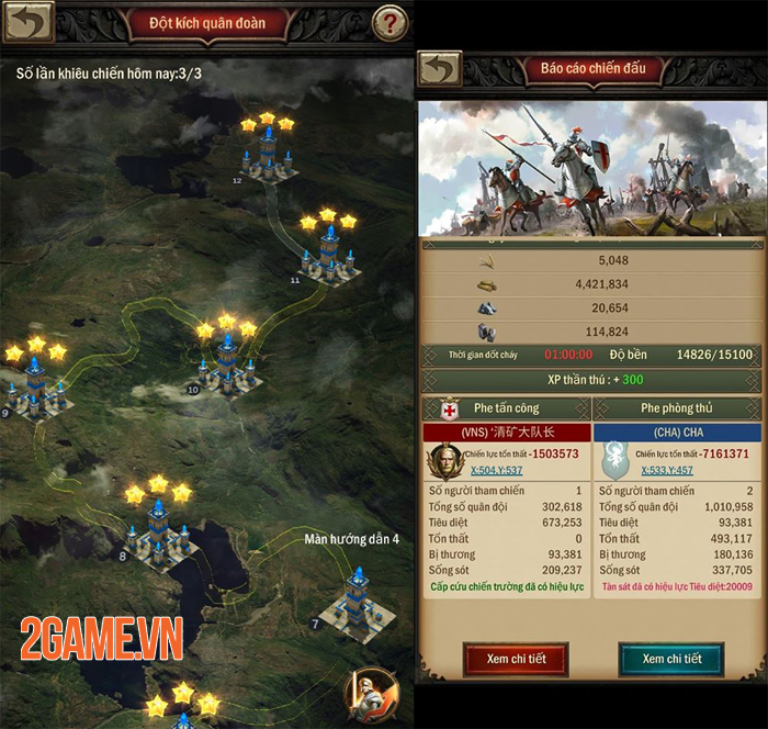 VTC Game đưa game chiến thuật kinh điển War and Order Mobile về Việt Nam 2
