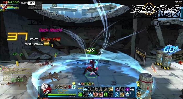 Game thủ đứng ngồi không yên trước tạo hình lung linh của Closers Việt Nam 5