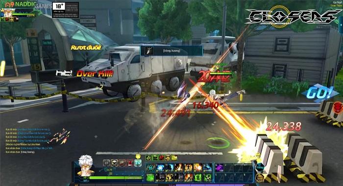 Game thủ đứng ngồi không yên trước tạo hình lung linh của Closers Việt Nam 7