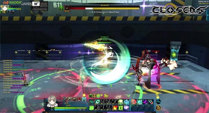 Game thủ đứng ngồi không yên trước tạo hình lung linh của Closers Việt Nam 8