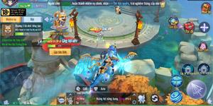 Linh Kiếm Cửu Thiên Mobile gây ấn tượng với đồ họa tiên kiếm hiệp kiểu mới