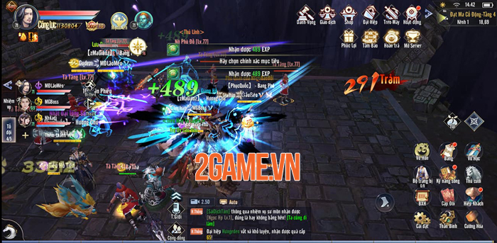 Bí kíp giúp bạn tăng cấp nhanh chóng trong game Thái Cực 3D Mobile 1