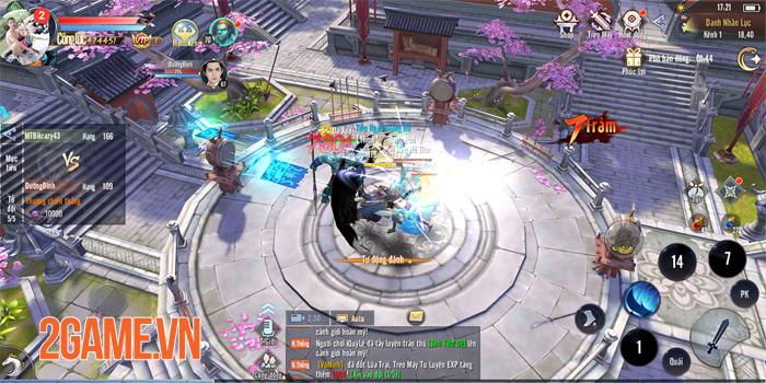 Bí kíp giúp bạn tăng cấp nhanh chóng trong game Thái Cực 3D Mobile 2