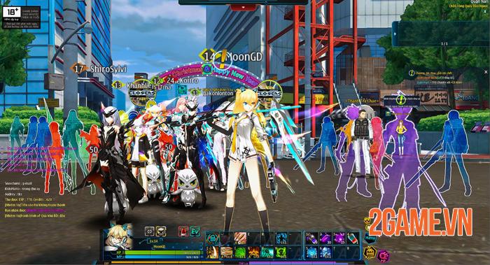 Các hoạt động PvP cân bằng trong Closers Online mang đến sân chơi PK đầy thử thách 0