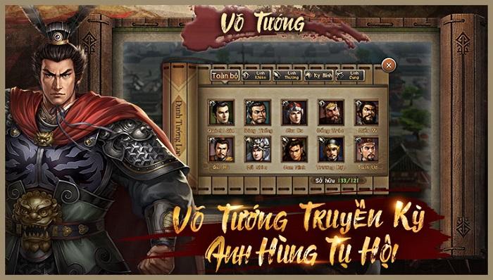 Game mobile Tân Tam Quốc Chí sẽ làm thỏa lòng những fan yêu thích chiến thuật 1