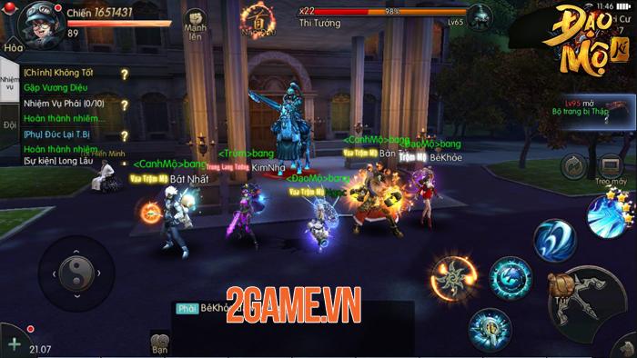Game Đạo Mộ Ký Mobile sẽ mang đến bối cảnh đời thực cho bạn khám phá 0