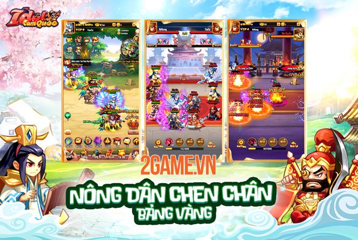 Funtap trình làng game mới Idol Tam Quốc Mobile vào đầu năm 2020 2