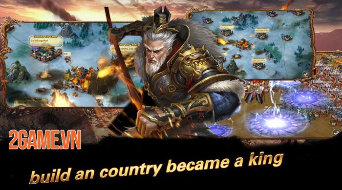Game chiến thuật hay ho Vương Triều Tranh Bá Mobile cập bến Việt Nam 4
