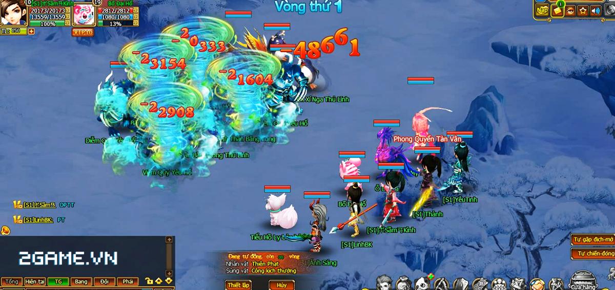 Game Mộng Ảo cập bến Việt Nam, lối chơi gợi nhớ về thời TS Online 2