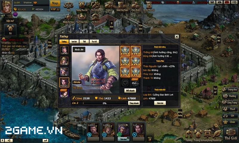 Thiên Tướng Hùng Sư: game chiến thuật mới của VNG 0