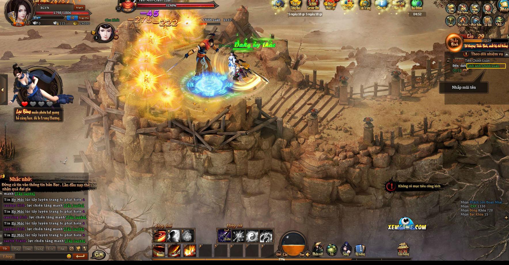Ngạo Kiếm Kỳ Thư khiến người chơi được sống lại thời đam mê võ hiệp 4