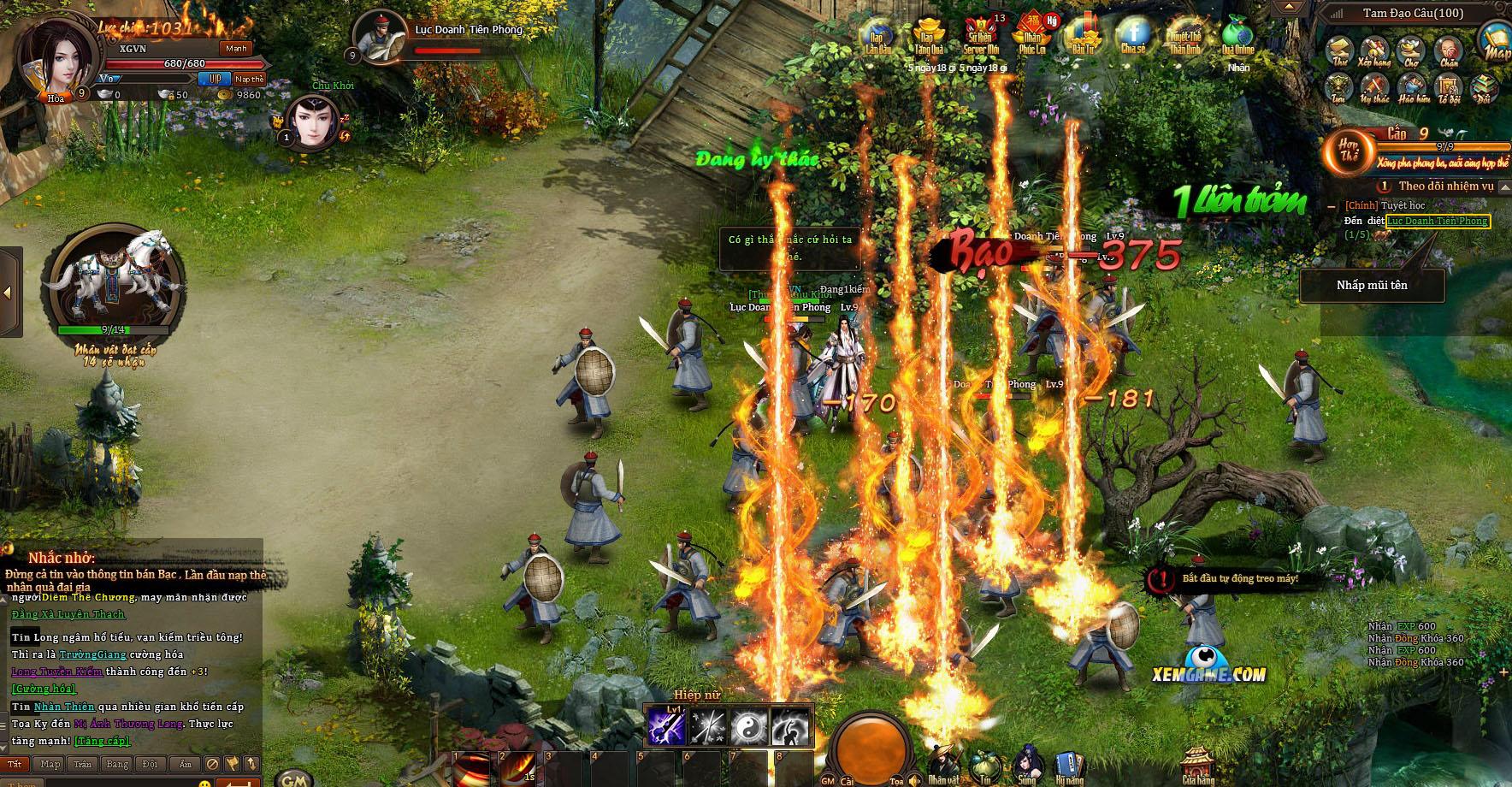 Ngạo Kiếm Kỳ Thư khiến người chơi được sống lại thời đam mê võ hiệp 2