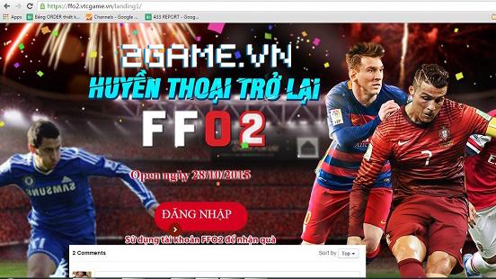 2Game giải mã bí ẩn 'Fifa Online 2' sắp được VTC Game hồi sinh 0