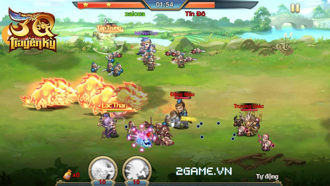 3Q Truyền Kỳ được VTC Mobile phát hành tại Việt Nam 0